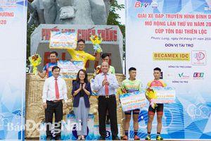 Khởi tranh chặng 1 Giải xe đạp BTV mở rộng lần 7-2020 Cúp Tôn Đại Thiên Lộc