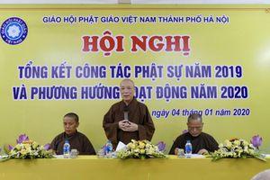 BTS Phật giáo Hà Nội tổng kết Phật sự