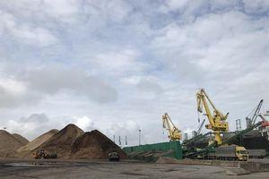 Nguy cơ ô nhiễm biển từ cảng dăm gỗ