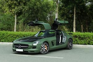 Siêu xe Mercedes-Benz SLS 'hàng độc' của ông Đặng Lê Nguyên Vũ