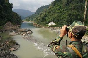 Trạm biên phòng nơi sông Đà chảy vào đất Việt