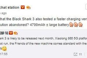 Black Shark 3 sẽ trình làng vào tháng tới với dung lượng pin lớn hơn
