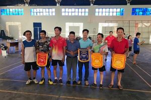 150 VĐV dự Giải cầu lông huyện Nhơn Trạch mừng Đảng mừng xuân Canh Tý 2020
