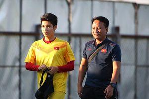 Trọng Hùng nói gì khi được thầy Park trao vị trí mới?