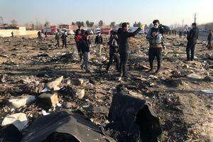 Vụ rơi máy bay ở Iran: Công bố quốc tịch 167 nạn nhân