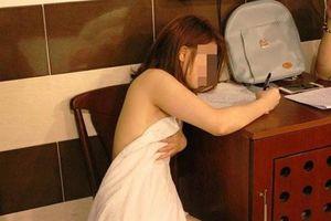 Nhiều khách đến đòi quan hệ nên cho tiếp viên bán dâm