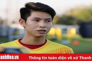 Tiền vệ Nguyễn Trọng Hùng sẵn sàng chinh phục giải vô địch U23 châu Á 2020
