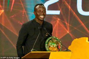 Sadio Mane giành giải 'Cầu thủ xuất sắc nhất châu Phi 2019'