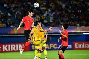 U23 Trung Quốc gục ngã trước Hàn Quốc ở phút bù giờ