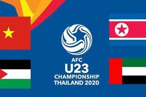 VCK U23 châu Á 2020: Cuộc đua tranh ở bảng D