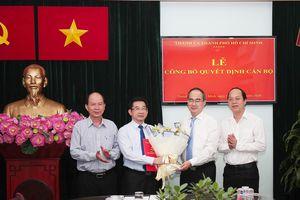 Bí thư Thành ủy TPHCM Nguyễn Thiện Nhân trao quyết định bổ nhiệm Trưởng ban Ban Nội chính Thành ủy