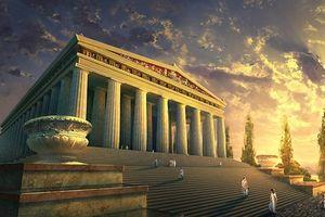 Cực choáng vụ thiêu rụi kỳ quan thế giới cổ đại để... bất tử