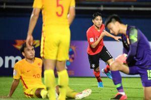 Video bàn thắng U23 Hàn Quốc 1-0 U23 Trung Quốc