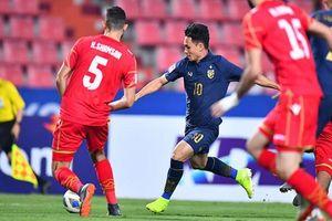 Phô diễn sức mạnh, U23 Thái Lan hủy diệt U23 Bahrain 5 bàn không gỡ