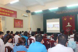 Tập huấn kỹ năng xử lý thông tin trên Trang thông tin điện tử