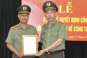 Thiếu tướng Đỗ Văn Hoành làm Chánh Văn phòng Cơ quan Cảnh sát Điều tra Bộ Công an