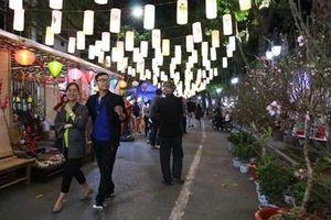 Hà Nội: Khai mạc chợ hoa Tết truyền thống