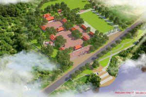 Khởi công Đền thờ chính Di tích lịch sử văn hóa đền Quả Sơn
