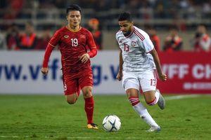 Mọi phương diện, U23 Việt Nam đều lép vế UAE