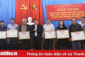 Hội Luật gia tỉnh Thanh Hóa triển khai nhiệm vụ năm 2020