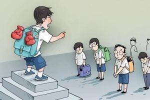 Bạo lực học đường: Tội lỗi hồn nhiên – hậu quả nặng nề