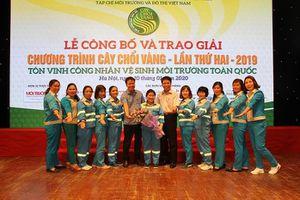 Nữ công nhân môi trường tử vong vì tai nạn giao thông nhận danh hiệu Cây chổi vàng