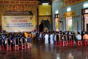 Tại lễ tổng kết, HT.Thích Quảng Xả nhắc Tăng Ni tu hành