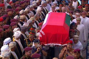 Lãnh đạo các nước dự lễ viếng Quốc vương Oman