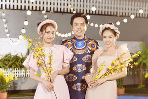 Vợ chồng Dương Khắc Linh - Sara Luu 'tung chiêu' nhắc nhẹ việc lì xì Tết trong MV mới