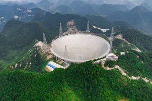 Kính viễn vọng lớn nhất thế giới của Trung Quốc đã phát hiện được 102 ẩn tinh mới