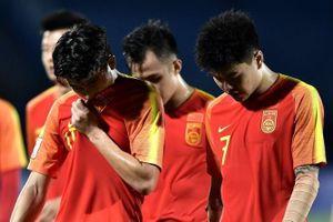 U23 Trung Quốc lặng người vì bị loại sớm tại giải châu Á