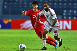 UAE thắng Triều Tiên, gây sức ép với U23 Việt Nam