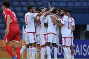 U23 UAE thắng nhàn, đánh bật U23 Triều Tiên khỏi cuộc chơi
