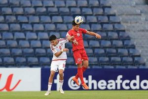 U23 UAE 2-0 U23 Triều Tiên: Triều Tiên dừng chân sau vòng bảng