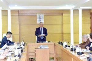 Phó Chủ tịch Quốc hội Uông Chu lưu chủ trì Hội nghị tổng kết năm 2019 của Ủy ban Hòa Bình Việt Nam