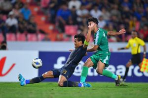 Cầm hòa U23 Iraq, U23 Thái Lan vào tứ kết U23 châu Á