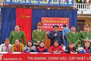 Gần 6.000 học sinh Vũ Quang được trang bị kiến thức pháp luật