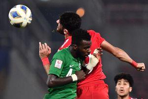 Những pha bắn phá khung thành đối phương của U23 Saudi Arabia