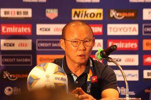 HLV Park Hang-seo thất vọng về thủ môn Bùi Tiến Dũng