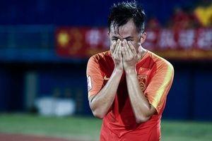 Thua cả 3 trận ở giải U23 châu Á, cầu thủ Trung Quốc òa khóc nức nở