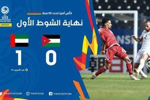 Trực tiếp U23 UAE 1-1 U23 Jordan: Dắt tay nhau vào tứ kết
