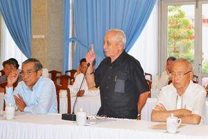 Họp mặt các đồng chí nguyên lãnh đạo tỉnh