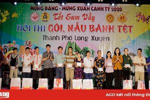 Liên đoàn Lao động TP. Long Xuyên trao 200 phần quà Tết cho đoàn viên có hoàn cảnh khó khăn