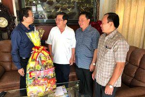 Chủ nhiệm UBKT Tỉnh ủy thăm và chúc tết các đồng chí nguyên lãnh đạo tỉnh