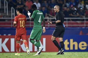 Báo Thái Lan: U23 chủ nhà bị loại vì trọng tài thiếu công bằng
