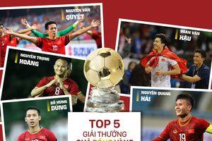 Quả bóng vàng Việt Nam 2019: Quang Hải đấu Hùng Dũng, Trọng Hoàng