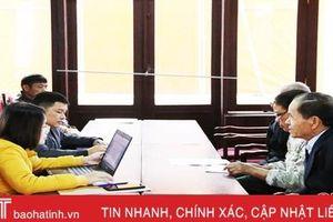 Thành lập tổ, rà soát xử lý vụ việc tồn đọng ở thành phố Hà Tĩnh