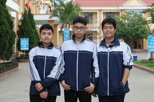 Hành trình đạt giải Quốc gia của 3 nam sinh quê Bác