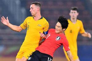 Highlights U23 châu Á 2020: Australia 0-2 Hàn Quốc