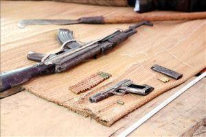 Vụ xả súng ở Lạng Sơn: Phát hiện 2 khẩu súng gần thi thể Lý Văn Sắn